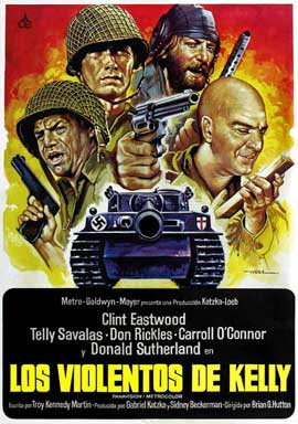 Kelly's Heroes - 11 x 17 Movie Poster - Spanish Style A