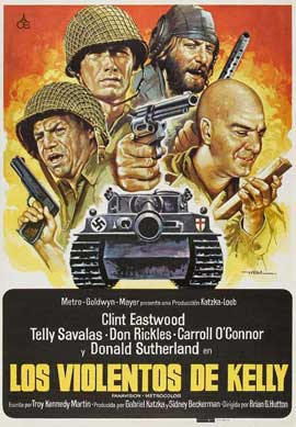 Kelly's Heroes - 27 x 40 Movie Poster - Spanish Style A
