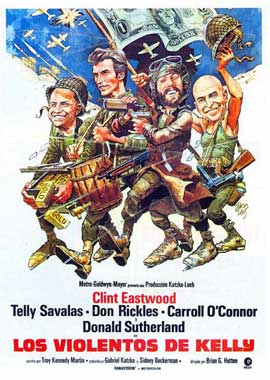 Kelly's Heroes - 27 x 40 Movie Poster - Spanish Style B