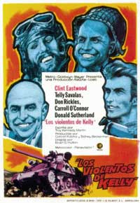 Kelly's Heroes - 27 x 40 Movie Poster - Spanish Style C