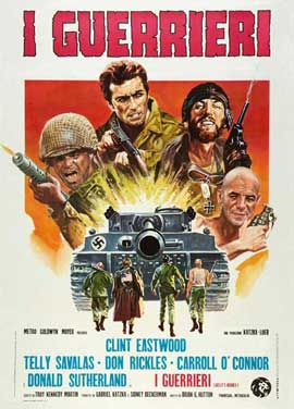Kelly's Heroes - 11 x 17 Movie Poster - Italian Style A