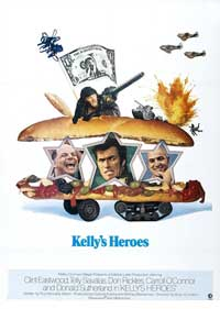 Kelly's Heroes - 11 x 17 Movie Poster - French Style A