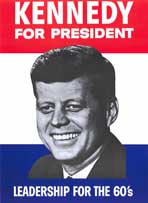Kennedy For President - 11 x 17 Movie Poster - Style A