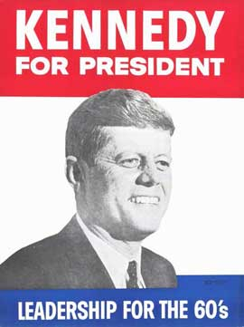 Kennedy For President - 11 x 17 Movie Poster - Style B