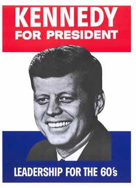 Kennedy For President - 27 x 40 Movie Poster - Style A