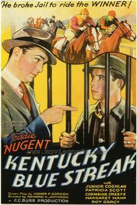 Kentucky Blue Streak - 27 x 40 Movie Poster - Style A