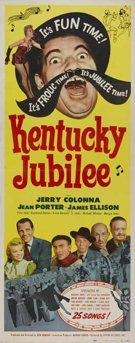 Kentucky Jubilee - 14 x 36 Movie Poster - Insert Style A