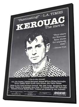Kerouac - 27 x 40 Movie Poster - Style A - in Deluxe Wood Frame