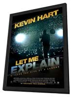 Kevin Hart: Let Me Explain - 27 x 40 Movie Poster - Style A - in Deluxe Wood Frame
