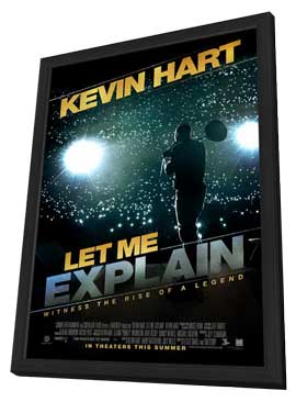 Kevin Hart on Kevin Hart  Let Me Explain   11 X 17 Movie Poster   Style A   In