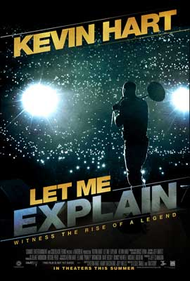 Kevin Hart: Let Me Explain - DS 1 Sheet Movie Poster - Style A
