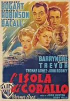 Key Largo - 11 x 17 Movie Poster - Italian Style D