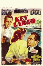 Key Largo - 11 x 17 Movie Poster - Belgian Style A