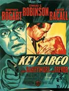 Key Largo - 11 x 17 Movie Poster - French Style A