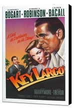 Key Largo - 11 x 17 Movie Poster - Style K - Museum Wrapped Canvas