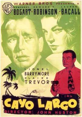 Key Largo - 11 x 17 Movie Poster - Spanish Style A