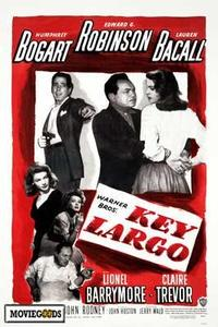 Key Largo - 43 x 62 Movie Poster - Bus Shelter Style A