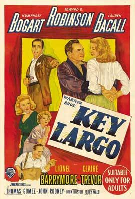 Key Largo - 11 x 17 Movie Poster - Austrailian Style D