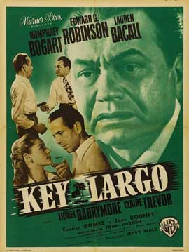 Key Largo - 11 x 17 Movie Poster - French Style F