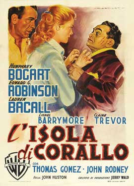 Key Largo - 11 x 17 Movie Poster - Italian Style G