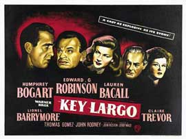 Key Largo - 11 x 14 Poster UK Style C