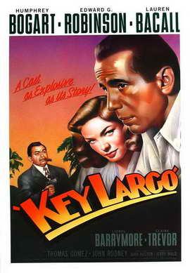 Key Largo - 11 x 17 Movie Poster - Style K