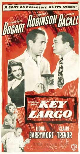 Key Largo - 14 x 36 Movie Poster - Insert Style B