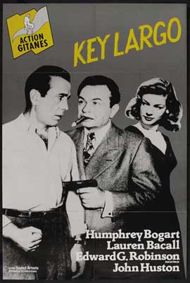 Key Largo - 27 x 40 Movie Poster - French Style E