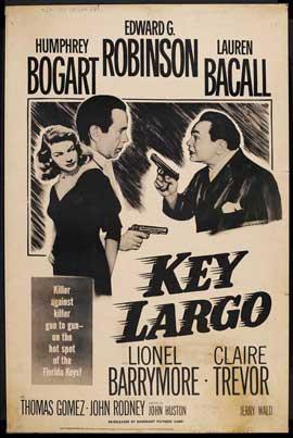 Key Largo - 27 x 40 Movie Poster - Style J