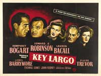Key Largo - 30 x 40 Movie Poster UK - Style A
