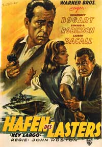 Key Largo - 11 x 17 Movie Poster - German Style A