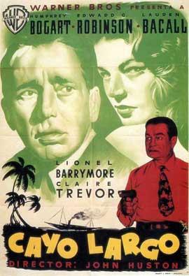Key Largo - 27 x 40 Movie Poster - Spanish Style A