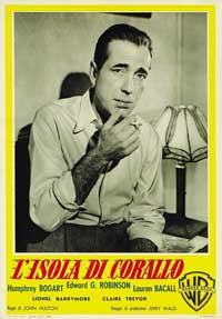 Key Largo - 11 x 17 Movie Poster - Italian Style A