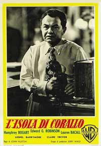 Key Largo - 11 x 17 Movie Poster - Italian Style B