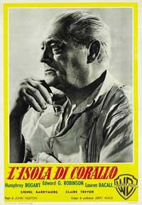 Key Largo - 11 x 17 Movie Poster - Italian Style C