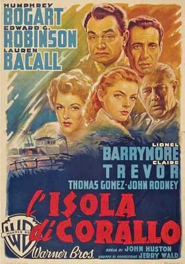 Key Largo - 11 x 17 Movie Poster - Italian Style D