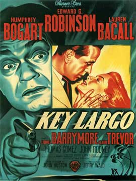 Key Largo - 27 x 40 Movie Poster - French Style A