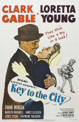 Key to the City - 11 x 17 Movie Poster - Style A