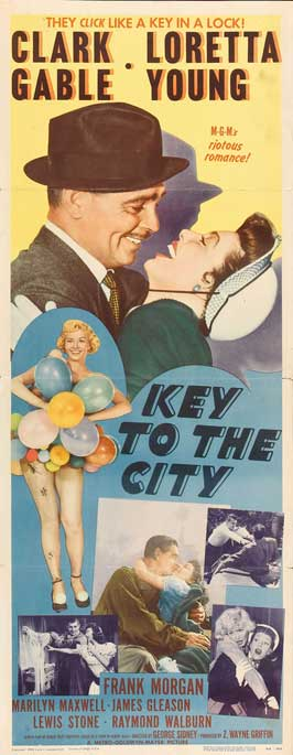 Key to the City - 14 x 36 Movie Poster - Insert Style A