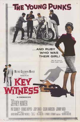 Key Witness - 11 x 17 Movie Poster - Style A