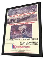 Khartoum - 11 x 17 Movie Poster - Style A - in Deluxe Wood Frame
