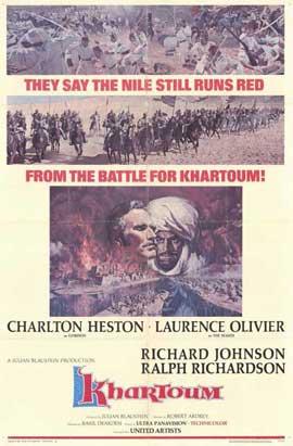 Khartoum - 11 x 17 Movie Poster - Style A