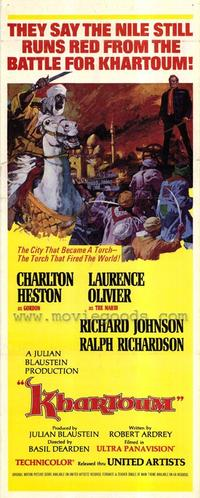 Khartoum - 11 x 17 Movie Poster - Style C