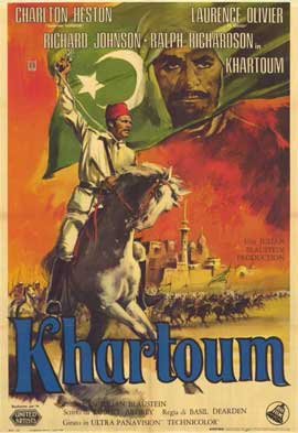 Khartoum - 11 x 17 Movie Poster - Italian Style A