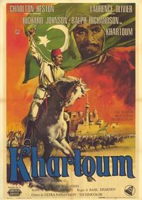 Khartoum - 39 x 55 Movie Poster - Italian Style A