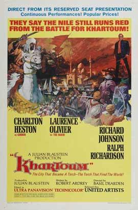 Khartoum - 11 x 17 Movie Poster - Style D
