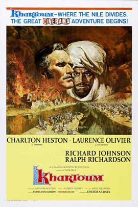 Khartoum - 27 x 40 Movie Poster - Style C