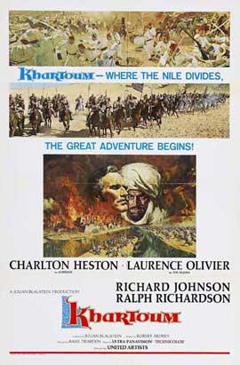 Khartoum - 11 x 17 Movie Poster - Style F