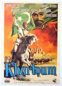 Khartoum - 11 x 17 Movie Poster - Italian Style B