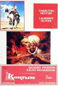 Khartoum - 11 x 17 Movie Poster - Spanish Style A